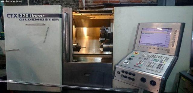 CNC-Drehmaschine Gildemeister CTX 320 LINEAR 2002