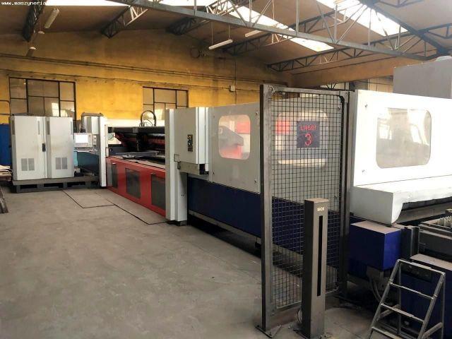 Machine de découpe laser 2D BYSTRONIC BYSTAR 4025 NT 80 2004