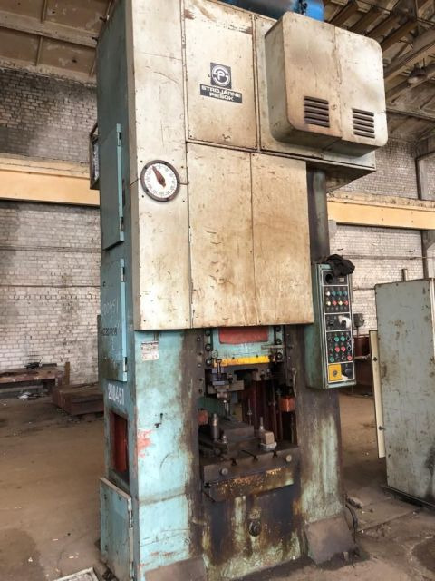 H Frame Press STROJARNE PIESOK (CZ) LK160 1990