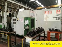 CNC Horizontal Machining Center  1xMazak H 1000  and 2xMazak H 630.