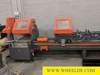 Serra de fita máquina Double blades cutting machine Tekna double blades cutting machine Tekna