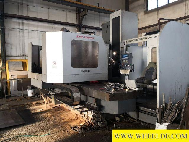 Horizontal Boring Machine CNC Horizont LEADWELL  BMH 1130RW CNC Horizont LEADWELL  BMH 1130RW 2012
