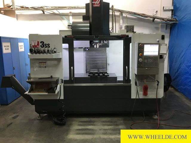 CNC Vertical Machining Center Haas VF3-SS Haas VF3-SS 2016