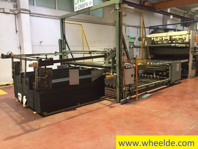 Frontstapler OMIPA Extrusion line OMIPA Extrusion line 1982