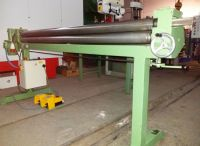 3 Roll Plate Bending Machine GEKA R 8