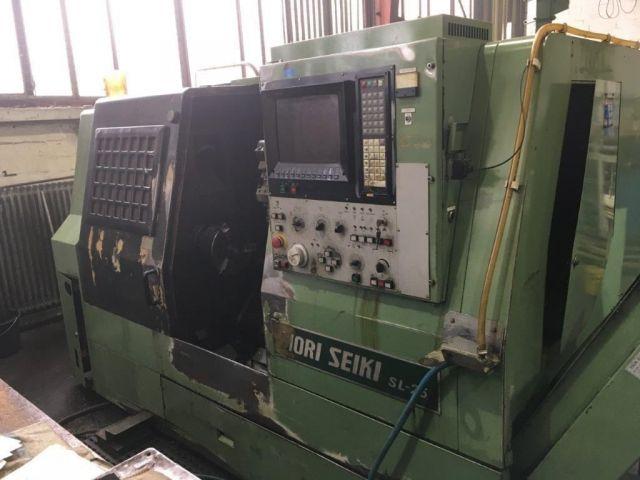 CNC Lathe MORI SEIKI SL 25 B / 500 1988