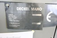 CNC frézka DECKEL MAHO 60 T 2000-Fotografie 3