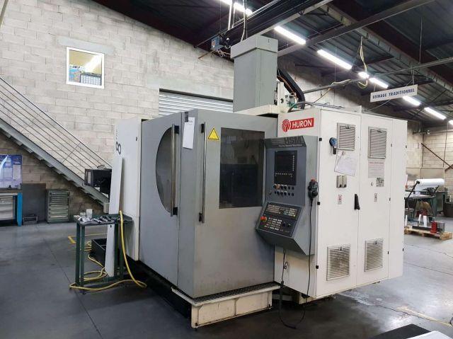 Centre dusinage vertical CNC HURON K2X8 FIVE 2013