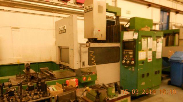 CNC Milling Machine MAZAK VQC-20/50 1985