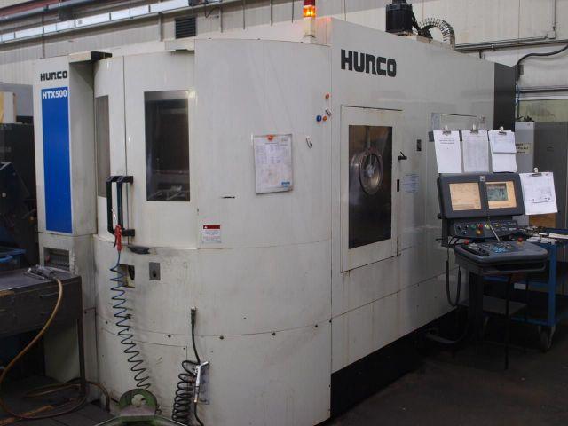 Centro de mecanizado horizontal CNC HURCO HTX 500 2008