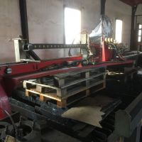 2D Plasma cutter PIERCE SCORPION 2500 GP