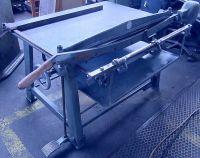Cisaille guillotine mécanique MÜLLER    KURTH unbekannt
