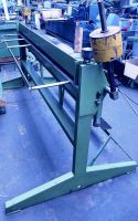 Folding Machines for sheet metal GEFI KH  5 x 2000 1990-Photo 2