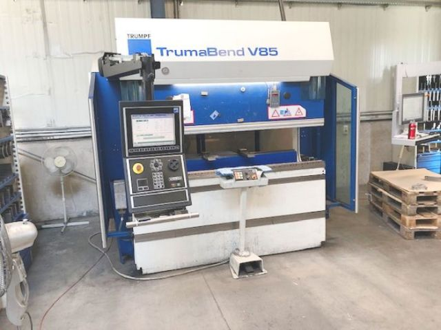 CNC Hydraulic Press Brake TRUMPF TrumaBend V 85 - 4 Achsen 2004