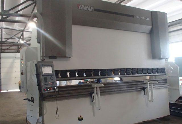 Prasa krawędziowa hydrauliczna CNC ERMAK CNC HAP 4100 x 400 2007