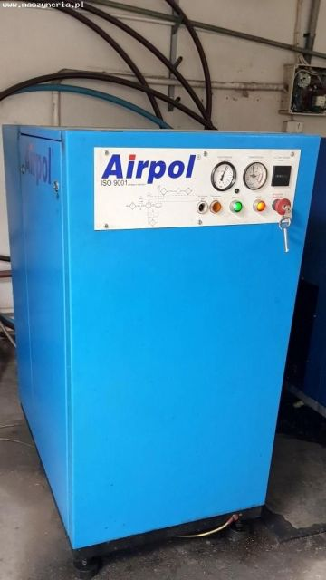 Screw Compressor AIRPOL C-15 2004
