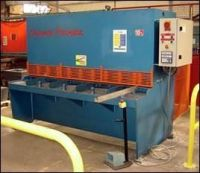 Cisaille guillotine hydraulique Descombes Precimeca GH 210