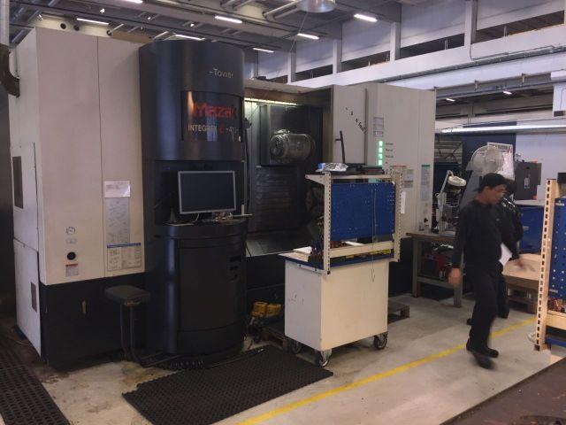 CNC-Drehmaschine MAZAK integrex e-410 HS 2004