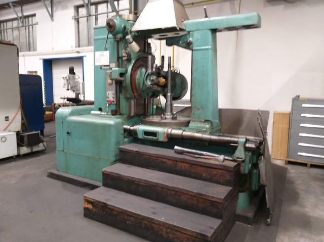 Gear Hobbing Machine TOS FO 10 1961