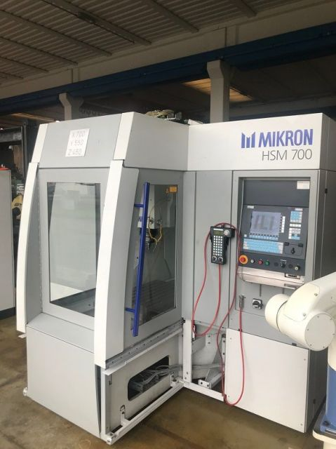 Turning and Milling Center MIKRON HSM 700 1999