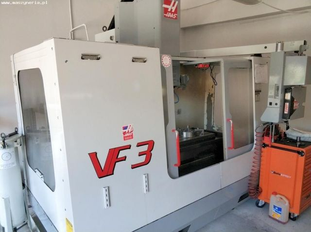 CNC Vertical Machining Center HAAS VF3 HE 2001
