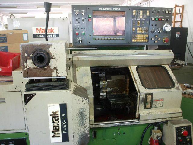 CNC Plandrehmaschine MAZAK Quick Turn 8N mit Maza Flex 15 1990