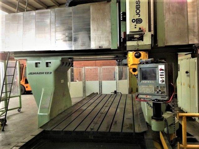 CNC Portal Milling Machine JOBS JOMACH 123 2009