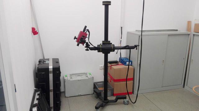 Měřicí stroj ATOS Comact Scan 2M 2013
