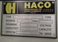 Cisalhamento guilhotina hidráulica HACO HSLX 2011-Foto 4