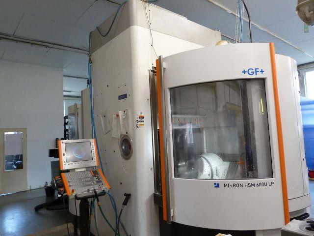Вертикальный многоцелевой станок с ЧПУ (CNC) MIKRON HSM 600 U LP 2014