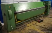 Folding Machines for sheet metal OZAMECH KM 4/3000