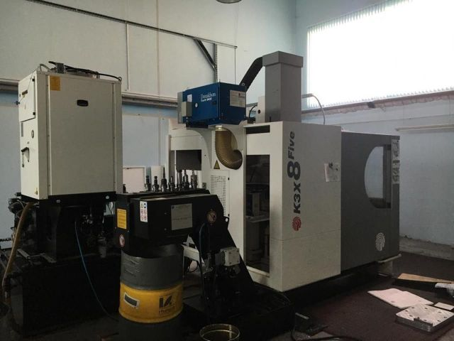 CNC Milling Machine HURON K3X8 Five 2012