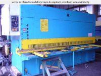 Hidraulic de forfecare ghilotina STROJARNE PIESOK CNTA 3150/16