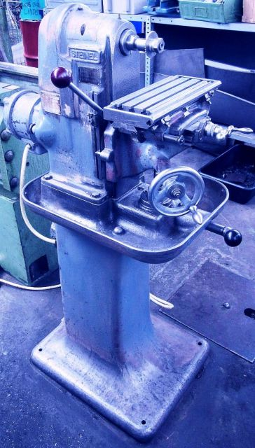 Horizontal Fräsmaschine STEINEL SH  1 1970