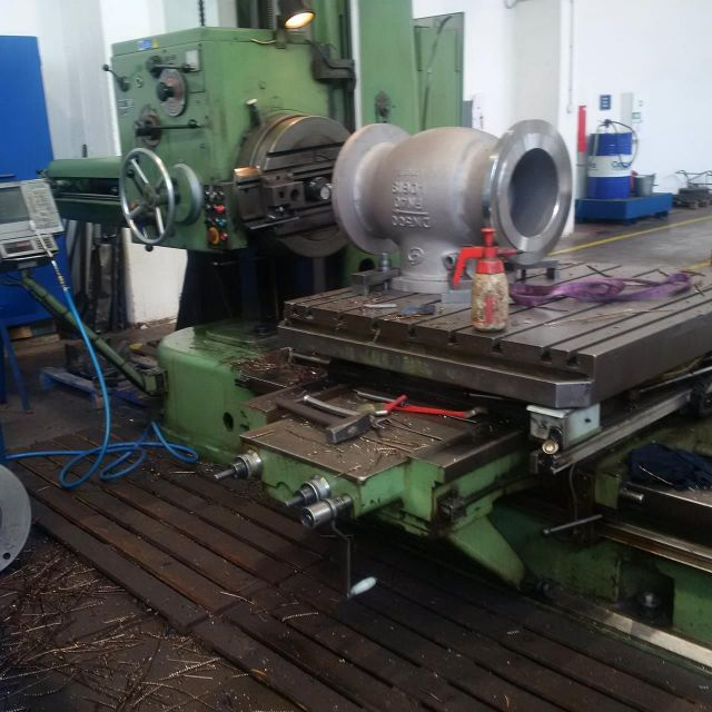 Horizontal Boring Machine TOS H 100 A 1963