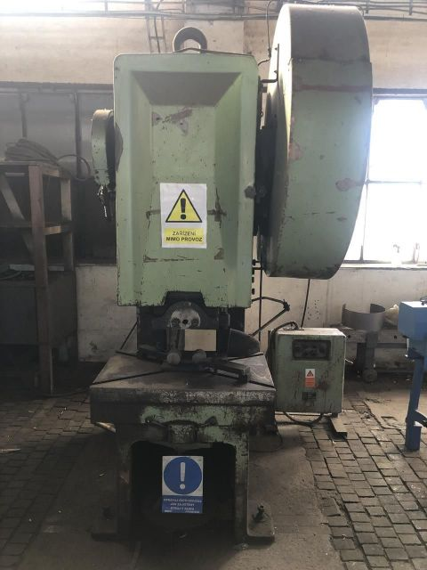 Knuckle Joint Press SMERAL LEPP 100 1969
