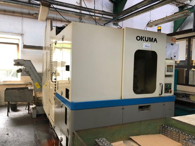 CNC Horizontal Machining Center OKUMA MA 40 HA 2003