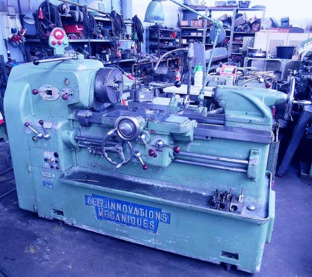 Universal-Drehmaschine INNOVATIONS  MECANIQUES T  6 1961