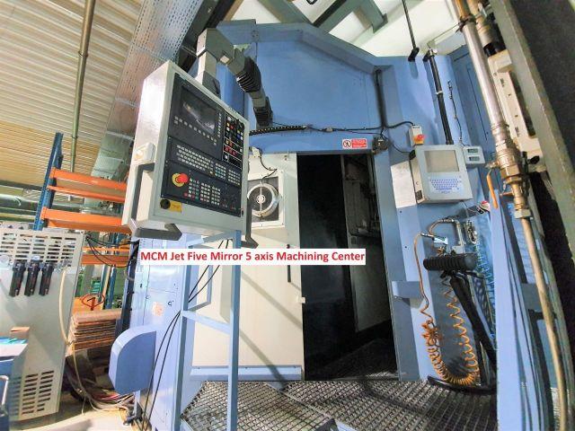 Вертикальный многоцелевой станок с ЧПУ (CNC) MCM Jet Five Mirror 5 axis Machining Center 2003
