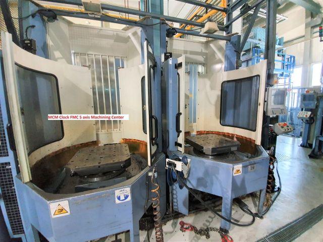 Вертикальный многоцелевой станок с ЧПУ (CNC) MCM Clock FMC 5 axis Machining Center 2001
