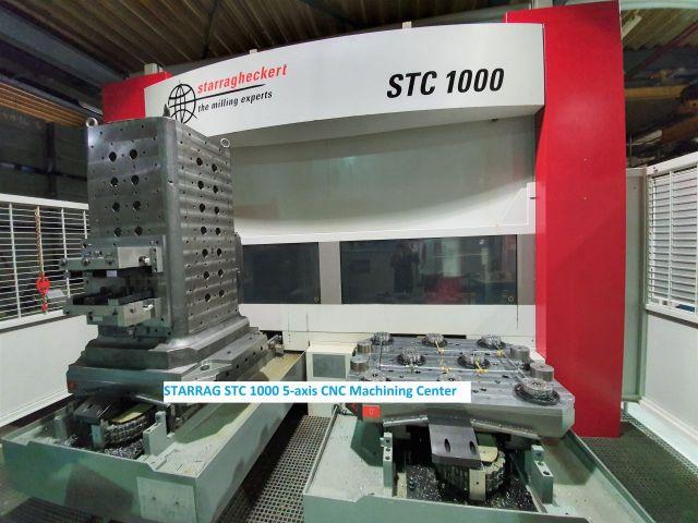 CNC Vertical Machining Center STARRAG STC 1000 5-axis CNC Machining Center 2007