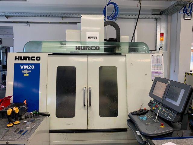 CNC Vertical Machining Center HURCO VM 20 DS 2011