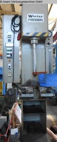 C Frame Hydraulic Press WINTER MT 6,3