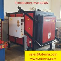 H frame hidraulikus prés Harder furnace