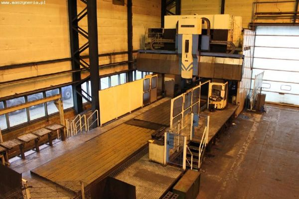CNC Portal Milling Machine WALDRICH SIEGEN PMC3000AS-M1 1994