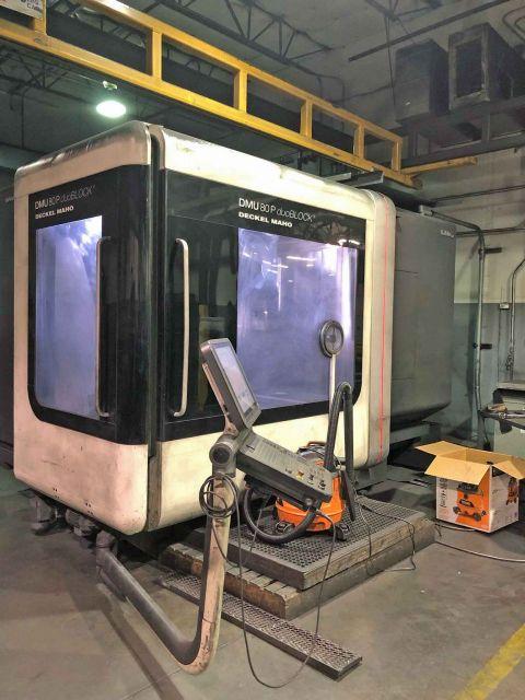 CNC fresemaskin DMG MORI DNU 80P duoBlock 2012