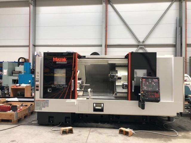 Torno automático CNC MAZAK QT 300 MS 2018