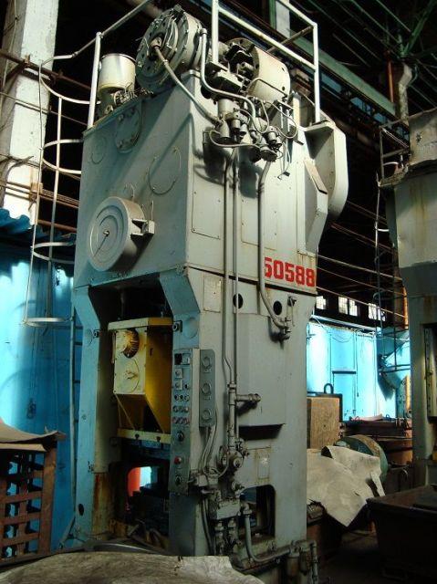 H Frame Press ERFURT PKnT-160 1985