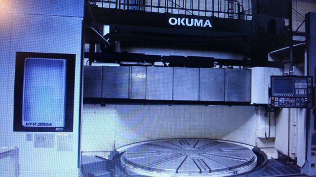 Tokarka karuzelowa CNC OKUMA LC360 2014
