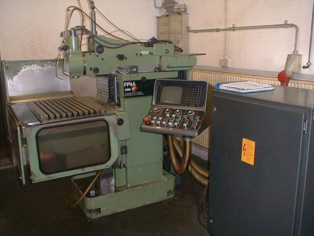 Universele freesmachine DECKEL FP 4 A 1980